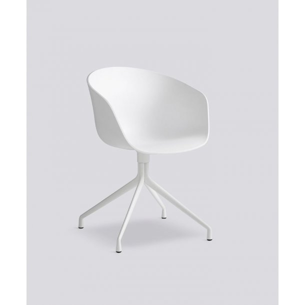 ABOUT A CHAIR / AAC 20 White seat White frame