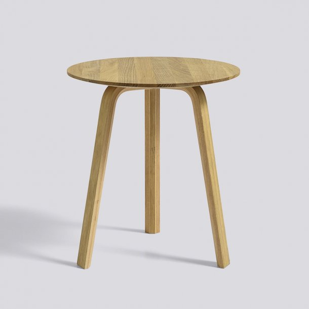 BELLA COFFEE TABLE Ø45/H39 Oiled oak