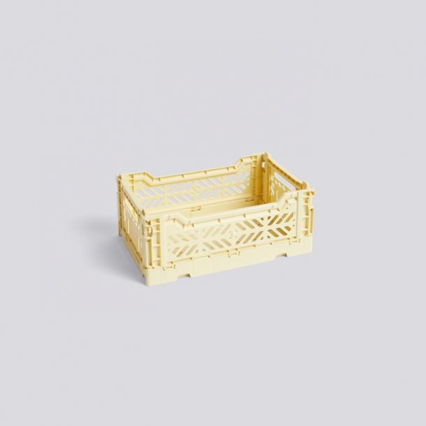 COLOUR CRATE Light yellow