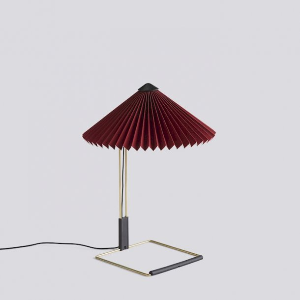 MATIN TABLE LAMP Small Oxide red