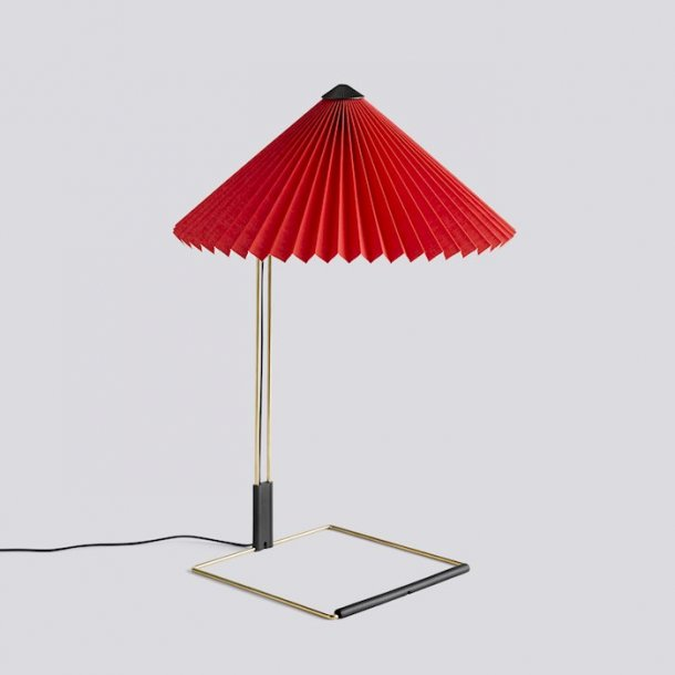 MATIN TABLE LAMP Large Bright red