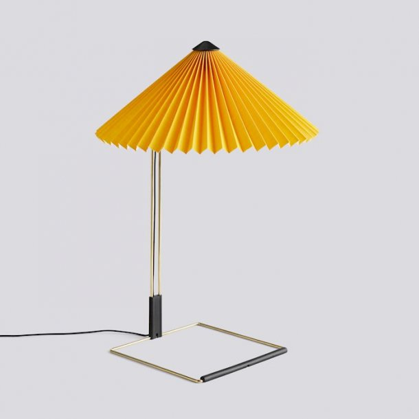 MATIN TABLE LAMP Large Yellow