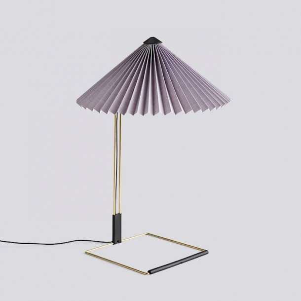 MATIN TABLE LAMP Large Lavender