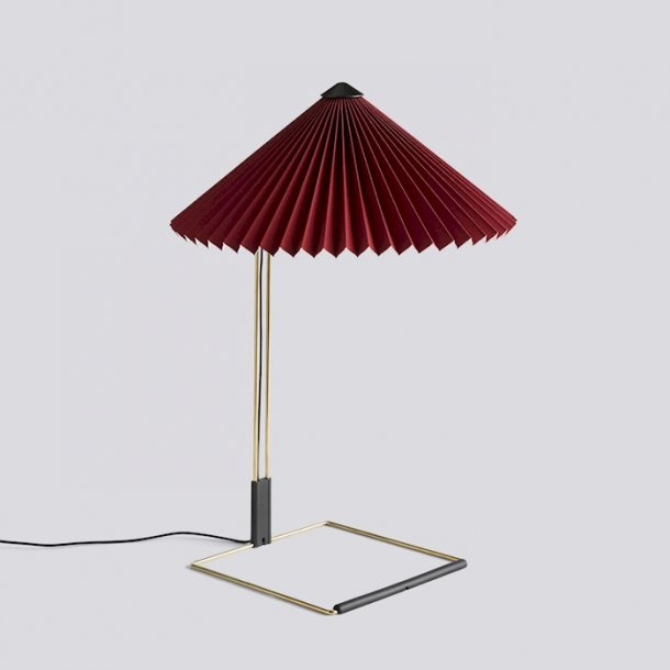 MATIN TABLE LAMP Large Oxide red