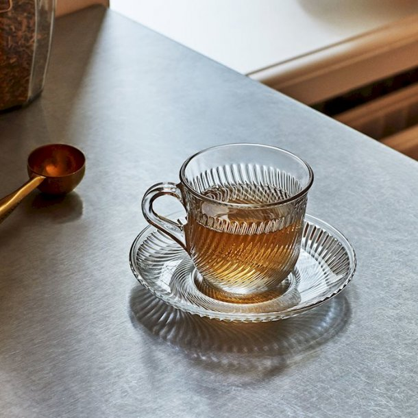 PIROUETTE COFFEE CUP + SAUCER