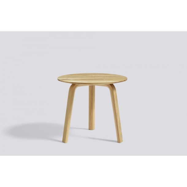 BELLA COFFEE TABLE Ø45/H39 Matt lacquered oak