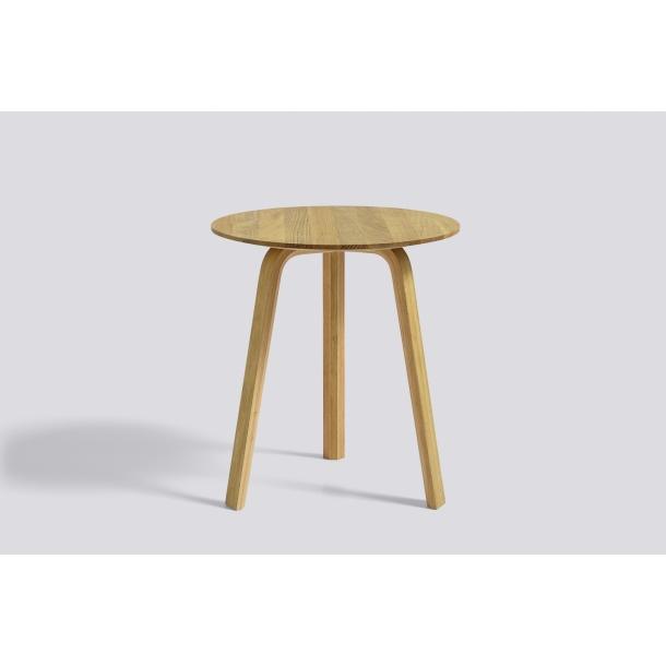 BELLA COFFEE TABLE Ø45/H49 Matt lacquered oak