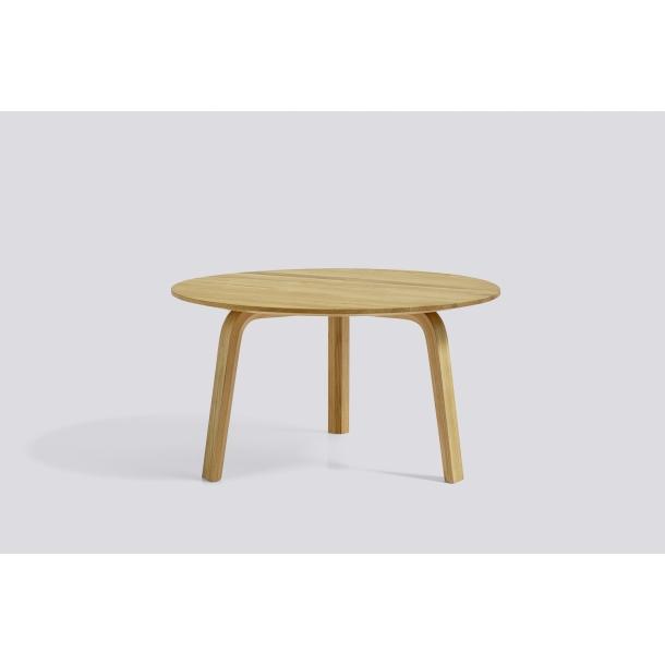 BELLA COFFEE TABLE Ø60/H32 Matt lacquered oak