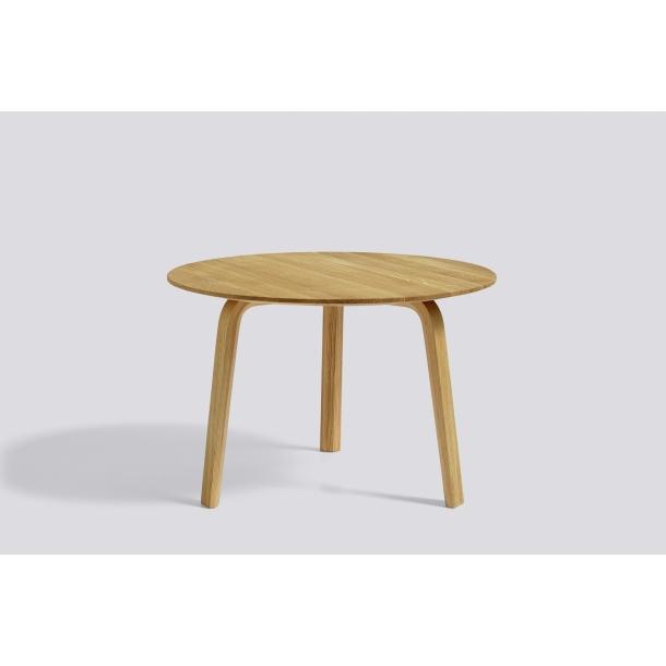BELLA COFFEE TABLE Ø60/H39 Matt lacquered oak
