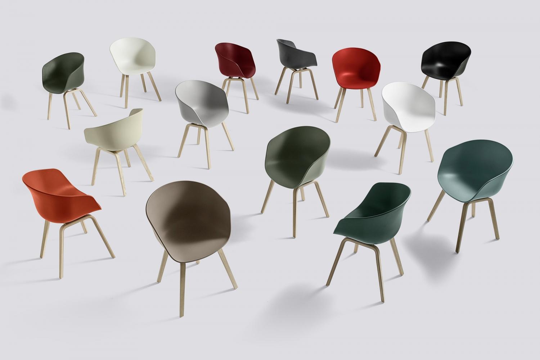chair aac22 oak chair chair aac22 black