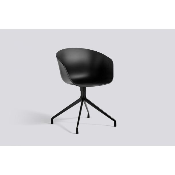 ABOUT A CHAIR / AAC 20 Black seat Black frame